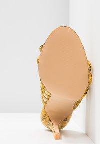 EGO - SAFFIYA - Heeled mules - yellow - 6