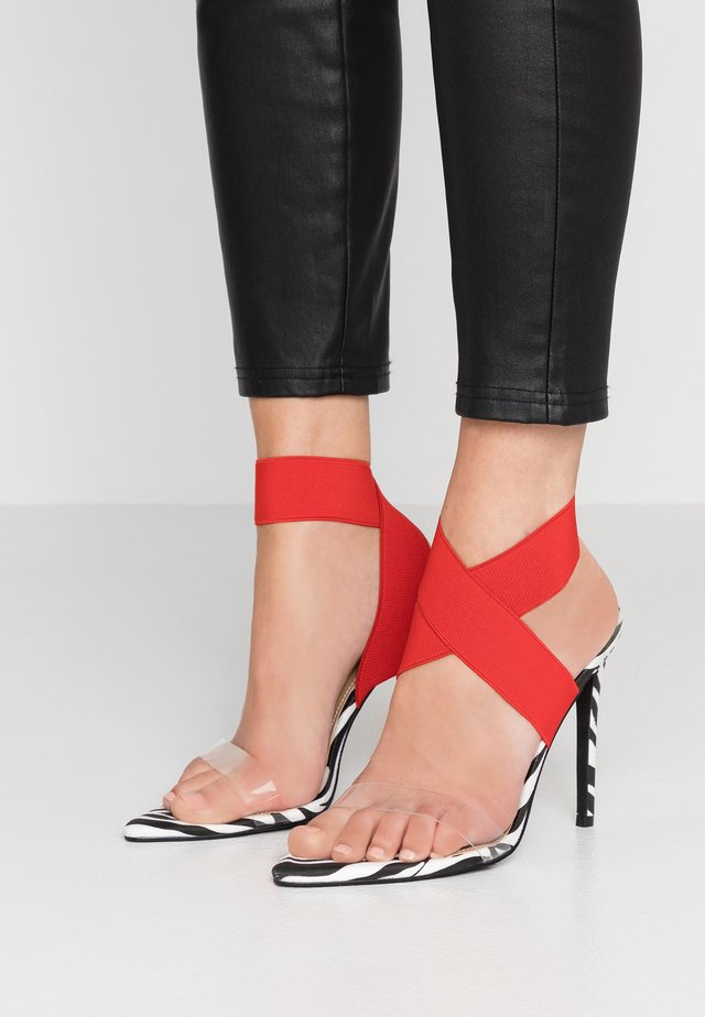 JOMA - High Heel Sandalette - red