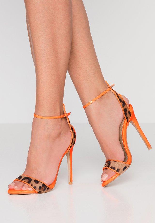 YASMINA - Sandaletter - orange/tan