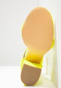 EGO - MELISSA - High Heel Sandalette - yellow - 6