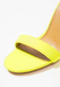 EGO - MELISSA - High Heel Sandalette - yellow - 2