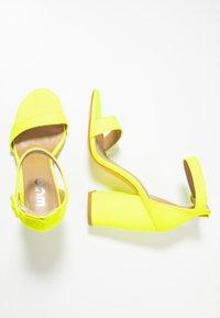 EGO - MELISSA - High Heel Sandalette - yellow - 3