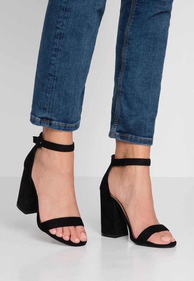 MELISSA - Sandalen met hoge hak - black
