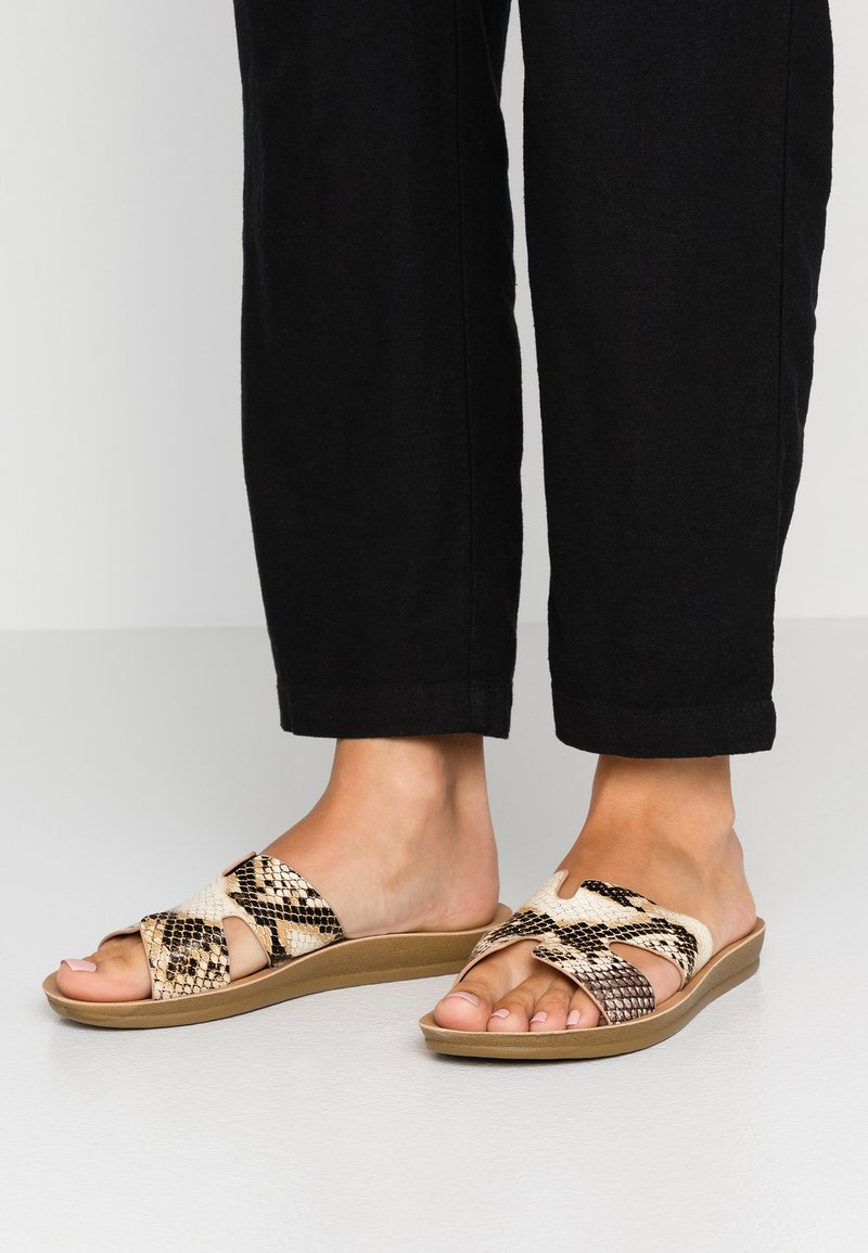 EGO - AVA - Pantolette flach - beige