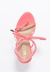 EGO - ROCHELLE - Sandaler med høye hæler - neon pink - 3