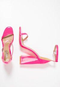 EGO - ATOMIC - Sandalias de tacón - fusia pink - 3