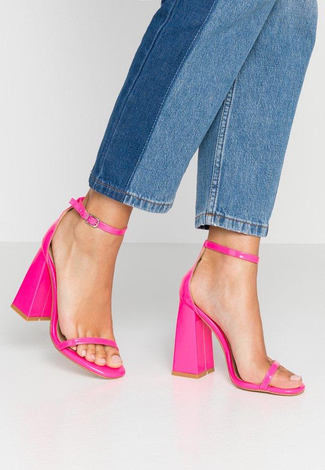 ATOMIC - Sandalen met hoge hak - fusia pink