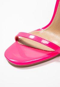 EGO - ATOMIC - Sandalias de tacón - fusia pink - 2