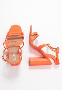 EGO - HALO - Sandály na vysokém podpatku - orange - 3