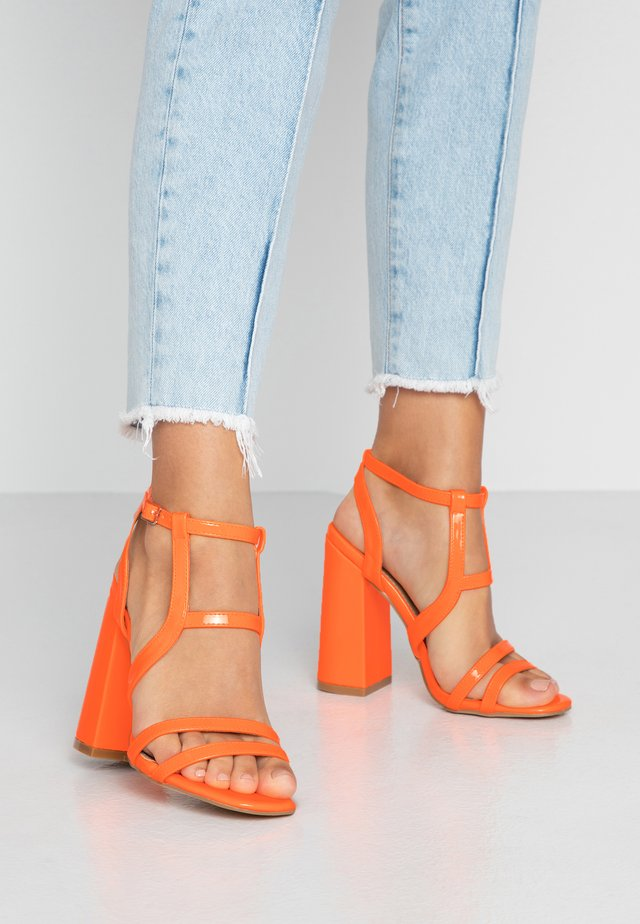 HALO - High Heel Sandalette - orange