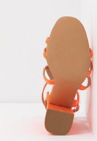 EGO - HALO - Sandály na vysokém podpatku - orange - 6