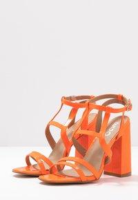 EGO - HALO - Sandály na vysokém podpatku - orange - 4