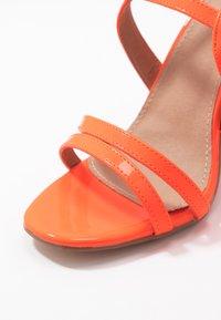 EGO - HALO - Sandály na vysokém podpatku - orange - 2