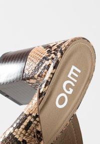 EGO - HOLLAND - Pantofle na podpatku - nude - 2