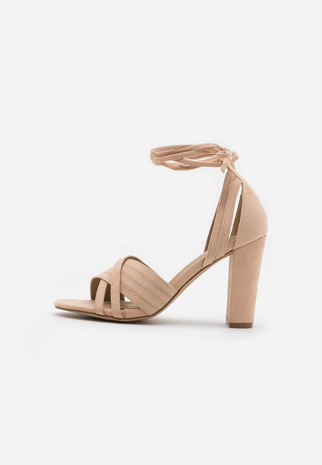 HOWWI - High heeled sandals - nude