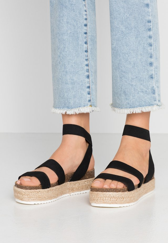 KENNY - Loafers - black
