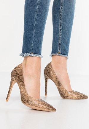 BRONTE - High heels - nude