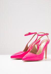 EGO - RAINA - Høye hæler - neon pink - 4