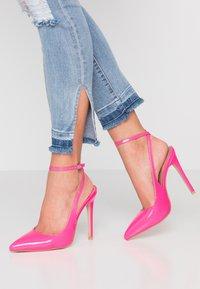 EGO - RAINA - Høye hæler - neon pink - 0