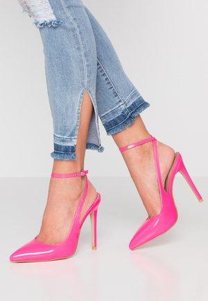 RAINA - Hoge hakken - neon pink