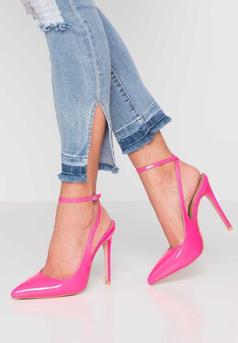 EGO - RAINA - Høye hæler - neon pink