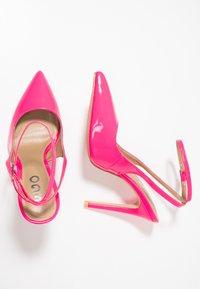 EGO - RAINA - Høye hæler - neon pink - 3