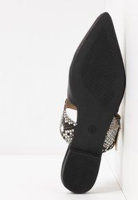 EGO - DAWSON - Mules - black/grey - 6