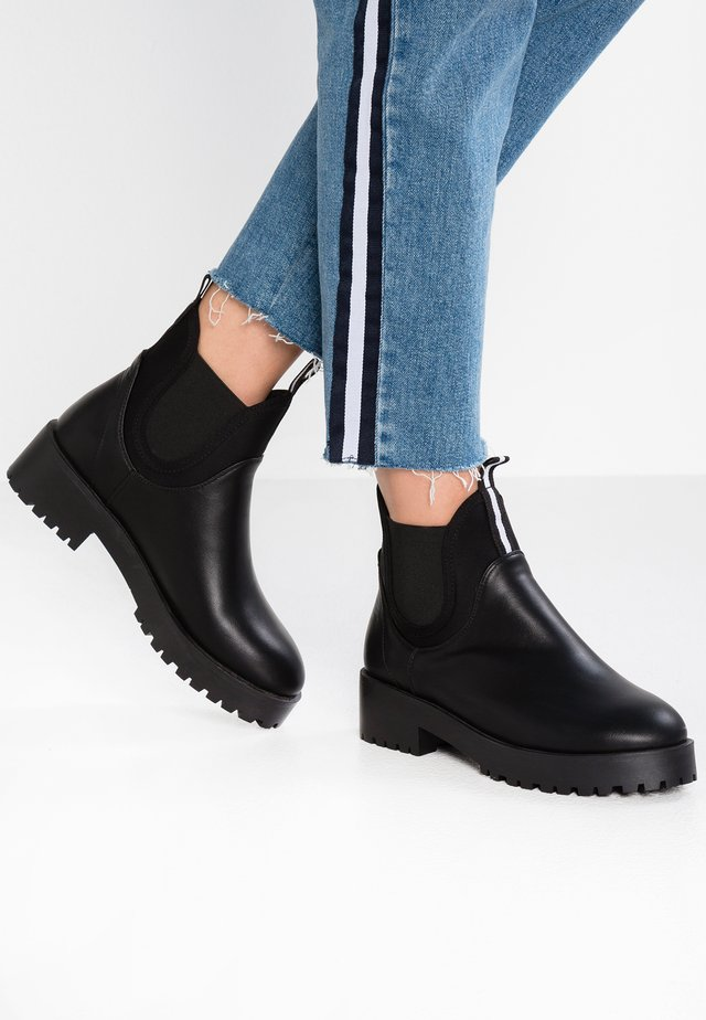 CODY - Platform ankle boots - black