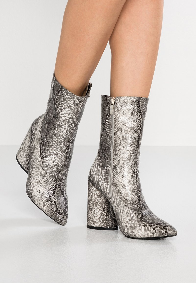 EGO - AMEERA - High heeled ankle boots - grey