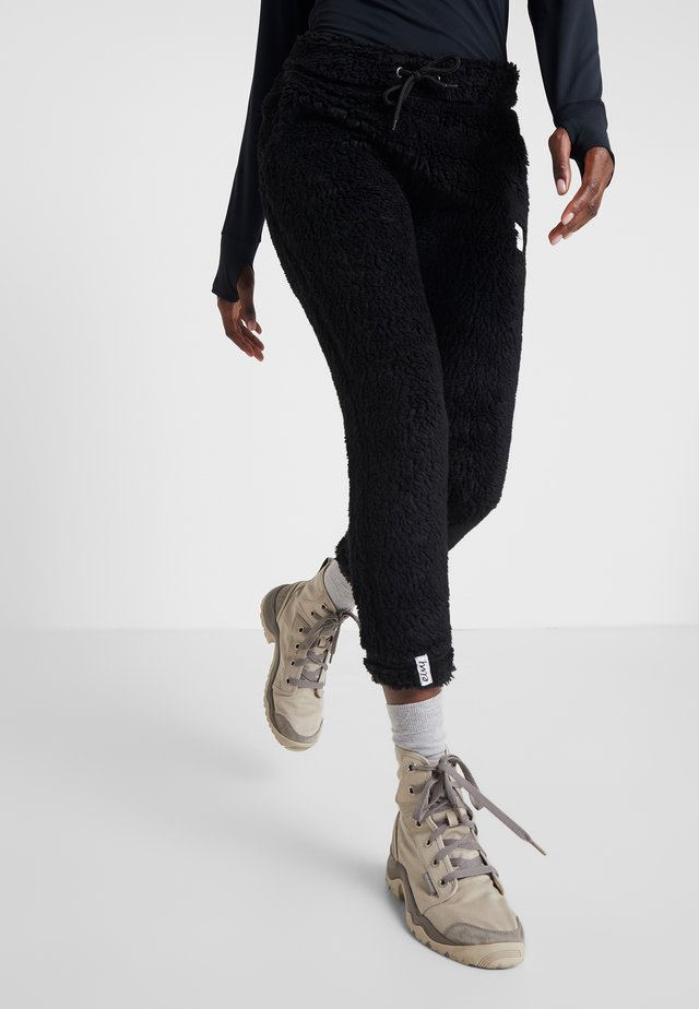 BIG BEAR PANTS - Verryttelyhousut - black