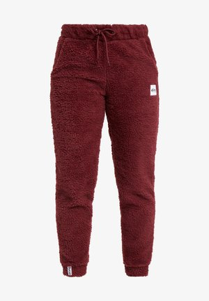 BIG BEAR SHERPA PANTS - Trainingsbroek - wine