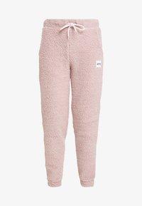 Eivy - BIG BEAR SHERPA PANTS - Träningsbyxor - faded pink - 4