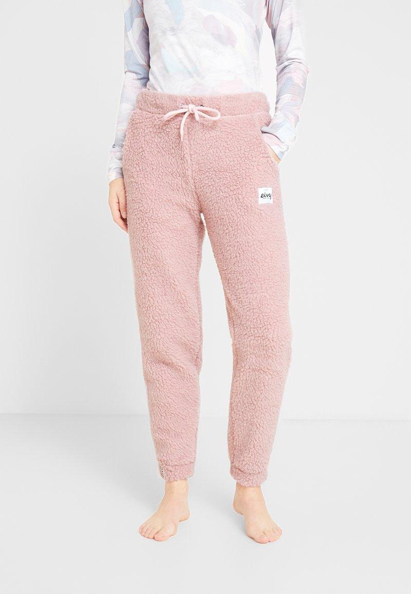Eivy - BIG BEAR SHERPA PANTS - Träningsbyxor - faded pink
