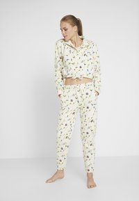 Eivy - REST IN PANTS - Träningsbyxor - offwhite - 1