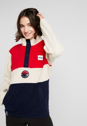 MOUNTAIN - Fleece jumper - red