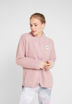 REDWOOD SHERPA JACKET - Fleecejas - faded pink