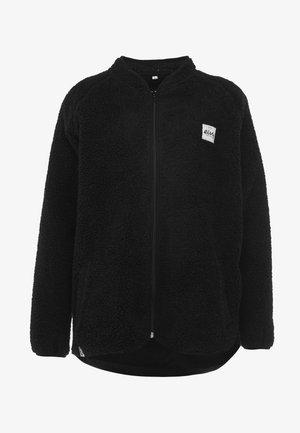 REDWOOD SHERPA JACKET - Fleece jacket - black