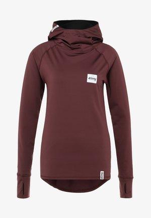 ICECOLD WINTER HOOD - Unterhemd/-shirt - wine