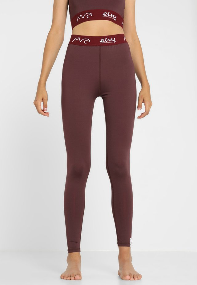 ICECOLD WINTER TIGHTS - Unterhose lang - wine
