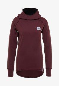 Eivy - ICECOLD HOOD - Camiseta de deporte - wine - 5