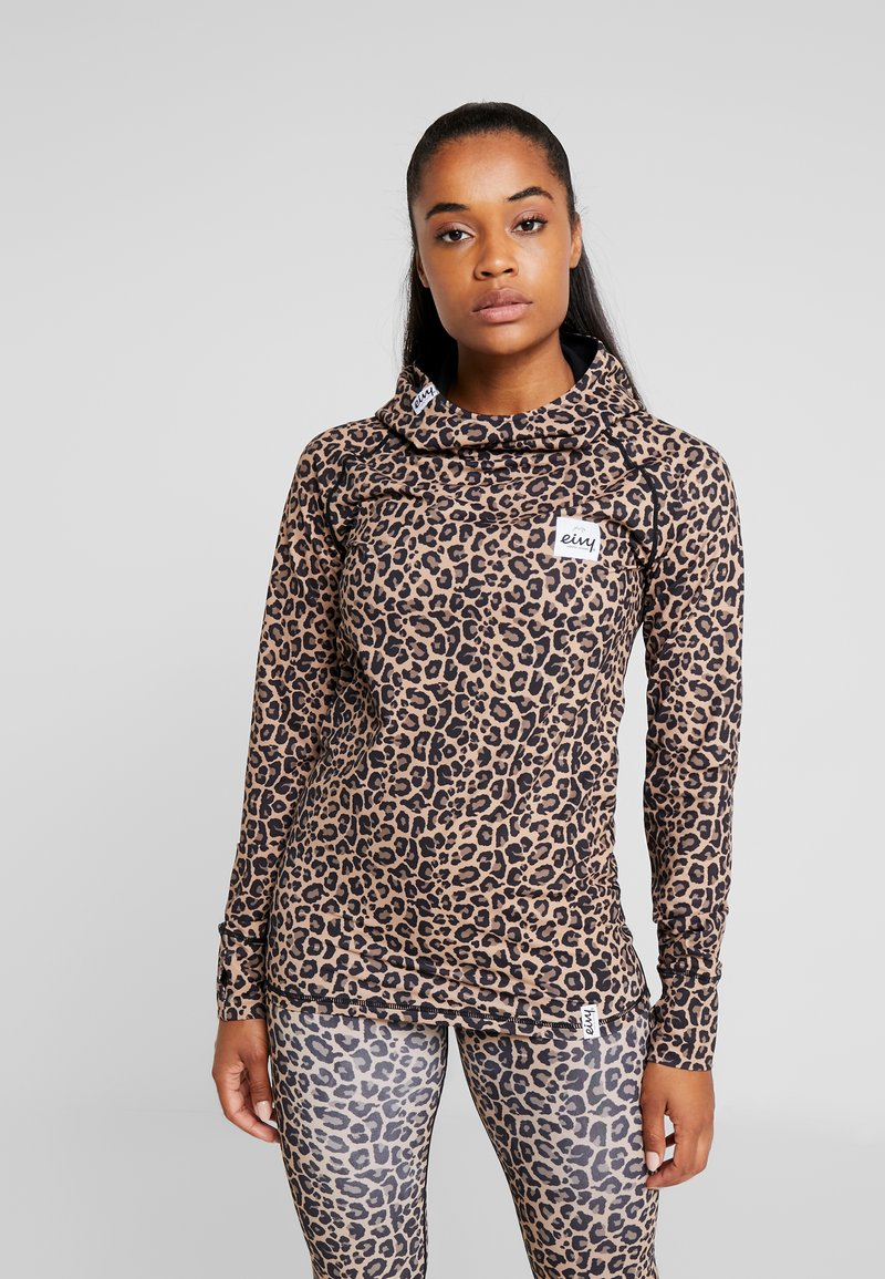 Eivy - ICECOLD HOOD - Sports shirt - brown