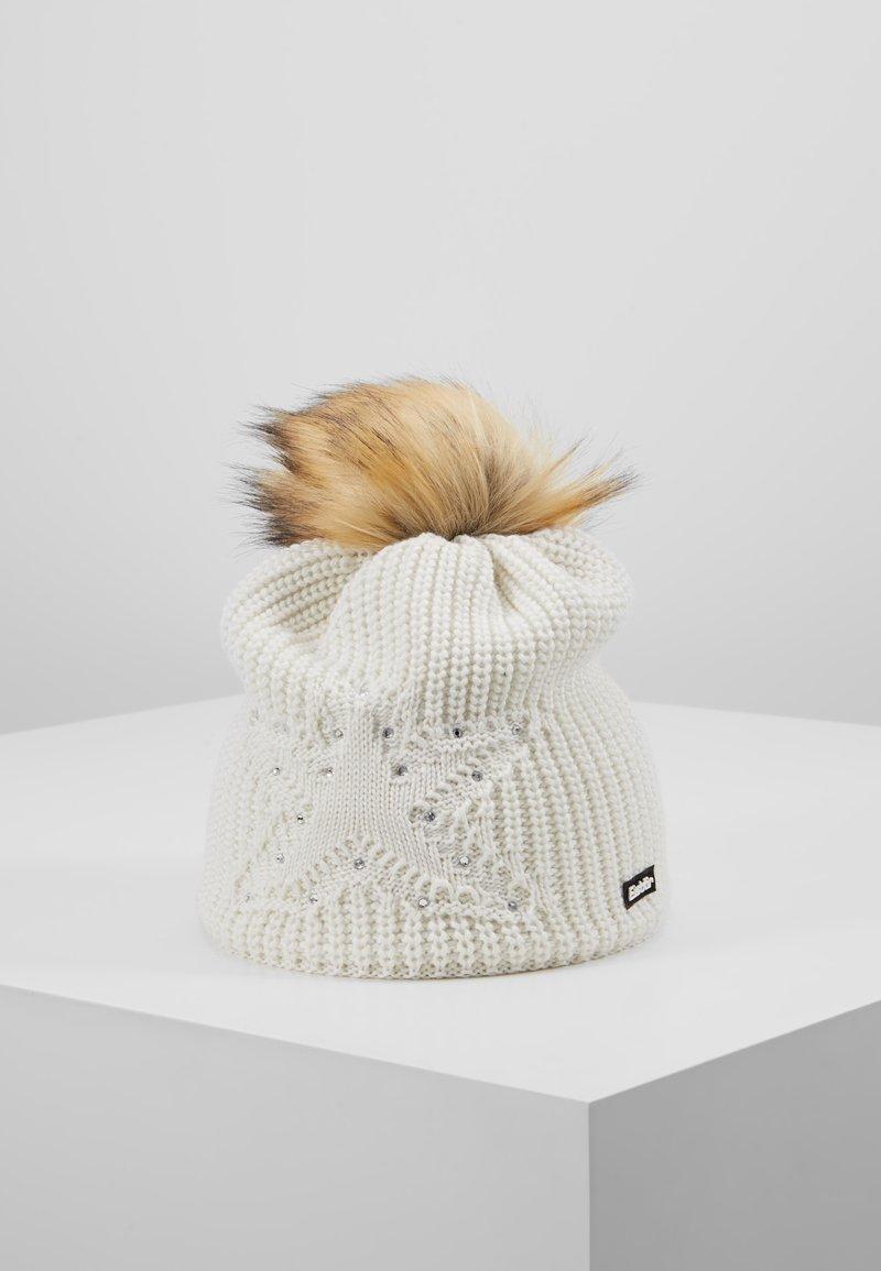 Eisbär - CHANTAL LUX CRYSTAL  - Beanie - white/hellbraun