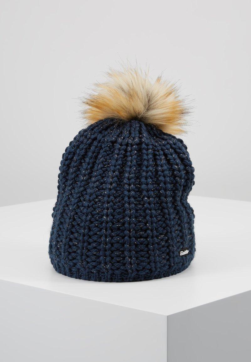 Eisbär - ENISA - Beanie - dark cobalt/braun