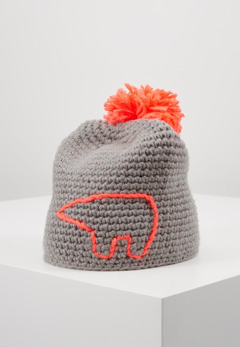 Eisbär - JAY POMPON - Beanie - grau/diva pink
