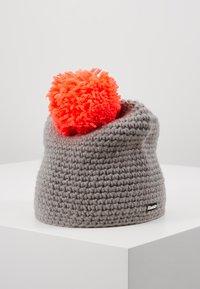 Eisbär - JAY POMPON - Mütze - grau/diva pink - 2