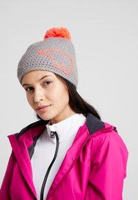 Eisbär - JAY POMPON - Mütze - grau/diva pink - 3