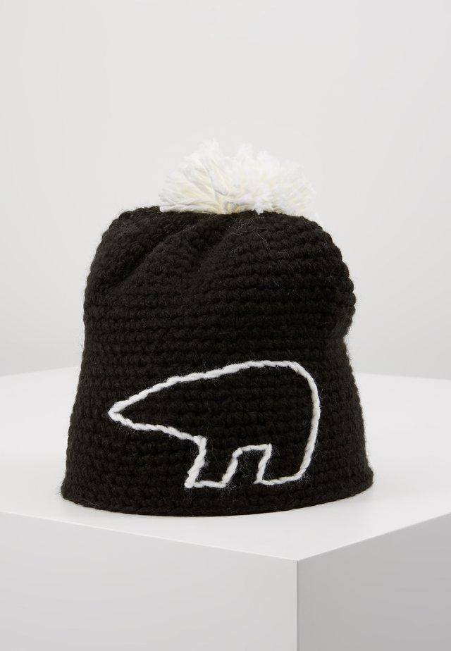JAY POMPON - Bonnet - schwarz/white