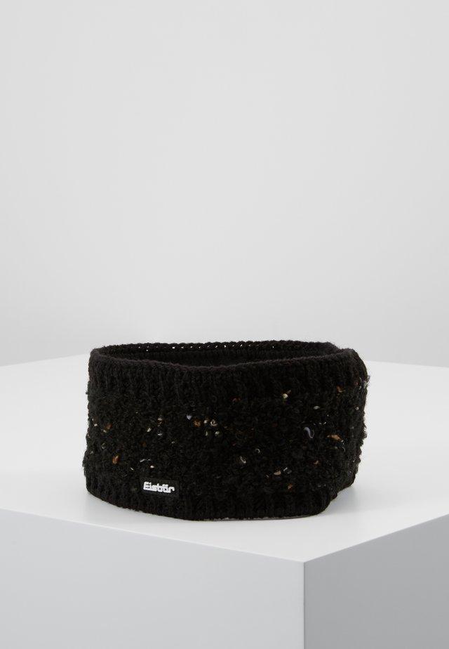 NAVINA - Ørevarmere - black melange