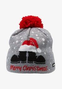 Eisbär - MERRY CHRISTMAS POMPON - Beanie - grey melange - 4