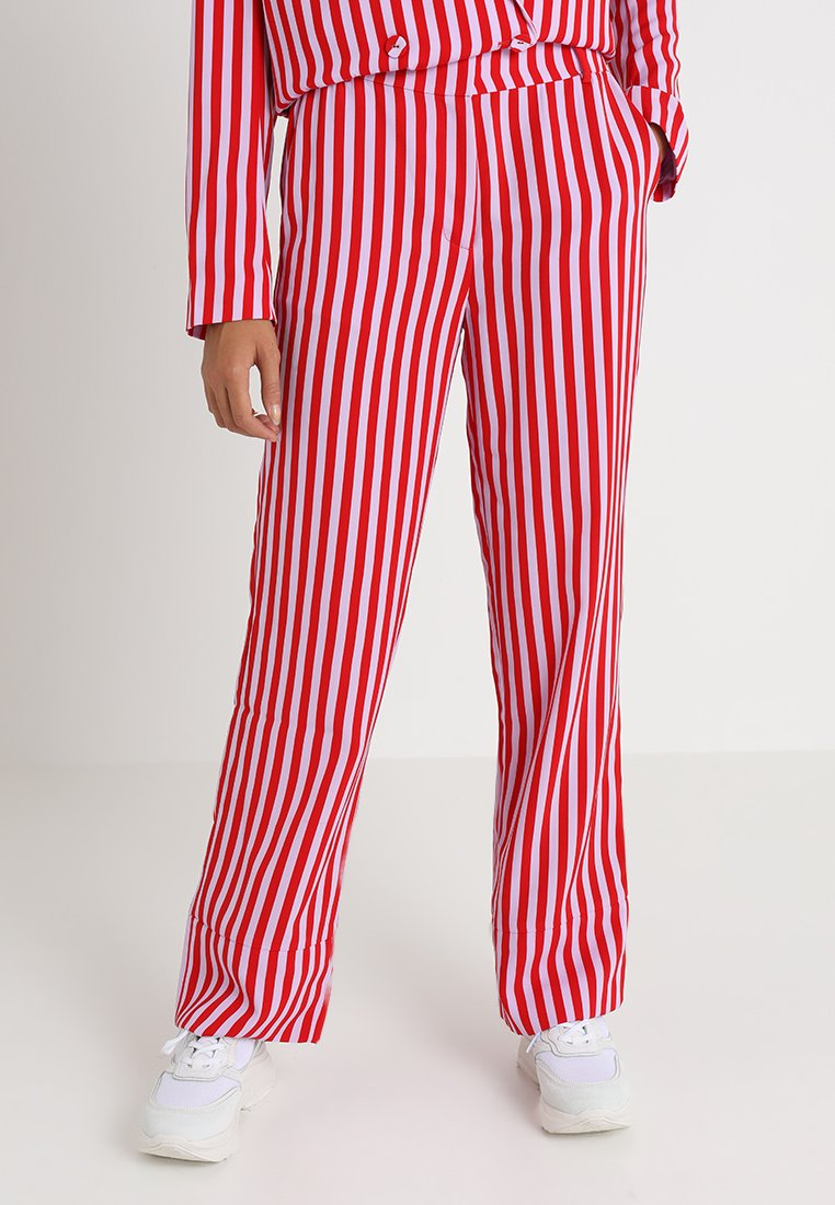 Envii - ENBRICK PANTS - Trousers - flieder